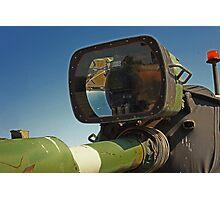 Barrel mounted M-60 Tank Light Photographic Print