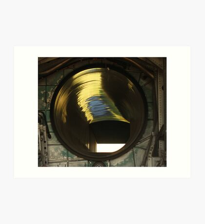 Fighter Jet Engine Air Intake Shaft Art Print