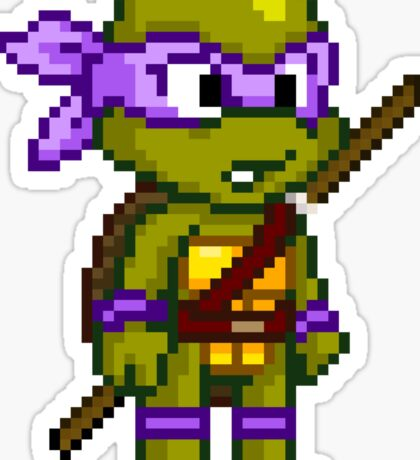 Donatello Does Machines Sticker