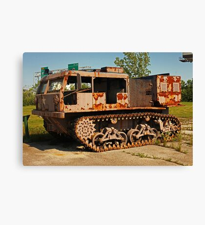 Armored Vehicle Image 7853 Canvas Print