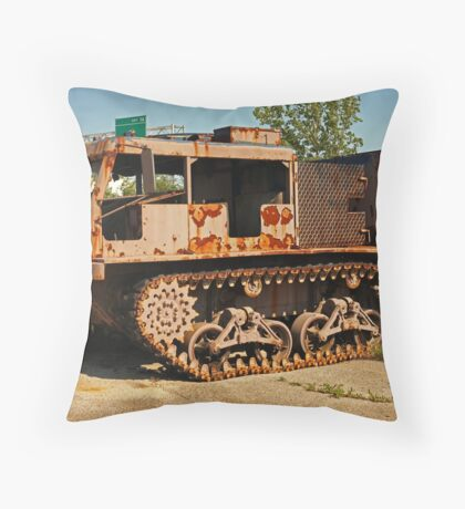 Armored Vehicle Image 7853 Throw Pillow