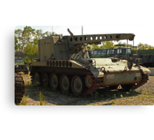 Armored Crane Image 7854 Canvas Print
