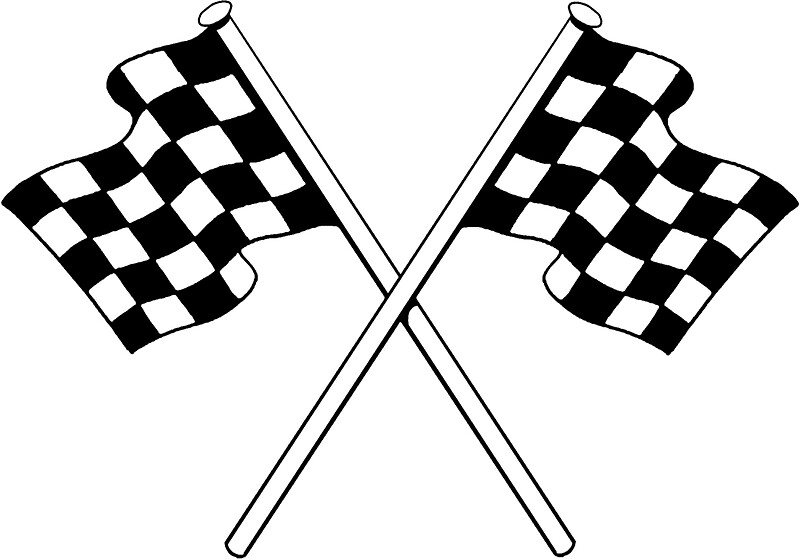 racing flags stickers redbubble