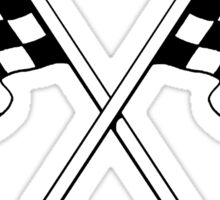 chequered flags , Grand Prix , Motor , Scooter , motorcycle , racing car , sports  Sticker