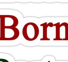 American Born In Portugal  Sticker