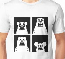 4 Angry Bears Unisex T-Shirt