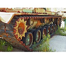 Tank Treads Photographic Print