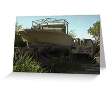 Military Boat 7870 Greeting Card