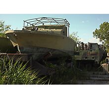 Military Boat 7870 Photographic Print