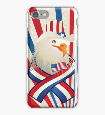 American Patriotic Eagle 4th Of July iPod / iPhone 4 Case iPhone Case/Skin