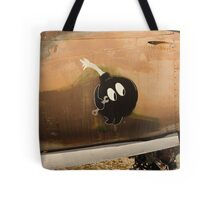 An Image of Luck Painted on Jet Engine Housing Tote Bag