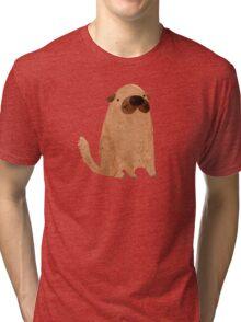 Brown Doggy Tri-blend T-Shirt