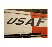 USAF Logo on Wing Art Print