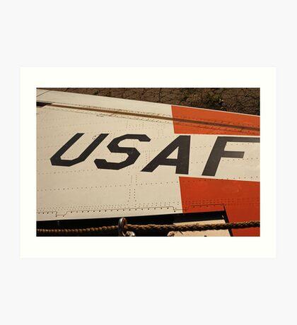 USAF Logo on Wing Art Print