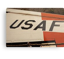 USAF Logo on Wing Metal Print