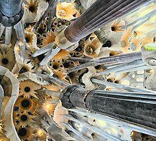 La Basílica de la Sagrada Família, Barcelona by Wendy  Rauw
