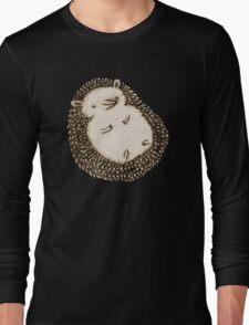 Plump Hedgehog Long Sleeve T-Shirt