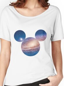 Mickey Galaxy  Women's Relaxed Fit T-Shirt