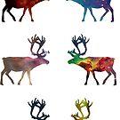 Reindeer 1 by teecup