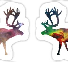 Reindeer 1 Sticker