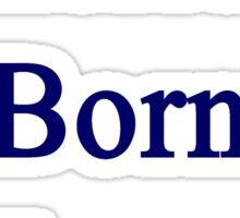American Born In Ecuador  Sticker