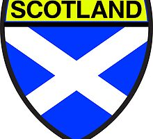 Scotland Flag and Shield  by sexymoo