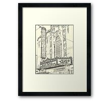 The Castro and Judy Garland Framed Print