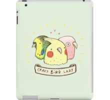 Crazy Bird Lady iPad Case/Skin