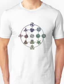 Avatar The Last Airbender; Forms of Bending T-Shirt