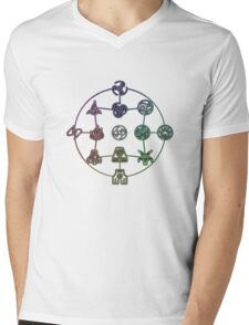 Avatar The Last Airbender; Forms of Bending Mens V-Neck T-Shirt