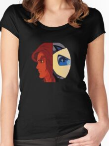Actarus - Goldrake  Women's Fitted Scoop T-Shirt