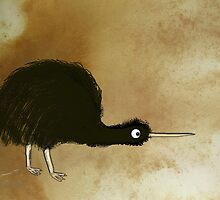 Black Kiwi by mindprintz