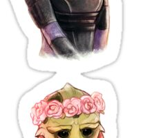 Flower Effect - Tali, Thane Sticker