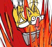 Tails S.O.S. Sticker