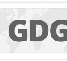 GDG ×3 Sticker