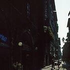 Street near our hotel Firenze Italy 19840707 0001 by Fred Mitchell
