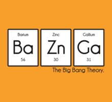Periodic Table BaZnGa! - Big Bang Theory by albertot