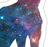 Giraffe Galaxy Sticker