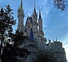Disney Magic Kingdom Castle by AmandaJanePhoto