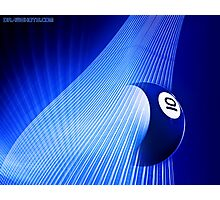 Ten Ball Wave Photographic Print