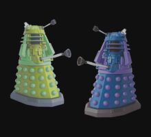 Daleks planning against Dr.Who by nadil