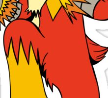 Battle Ready Blaziken Sticker