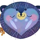 Sleepy Hedgehog by JimHiro