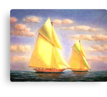 Sailing Adventures Canvas Print