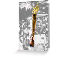 The Torch Greeting Card
