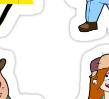 Gravity Falls set 2 Sticker