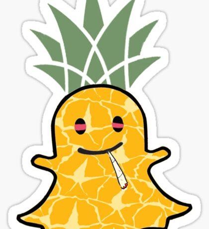 """""""Snapchat"""" Highnapple Sticker"""