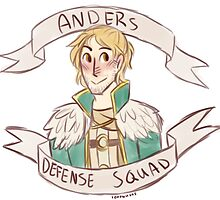 Dragon Age 2 - ANDERS DEFENSE SQUAD by 1000butts