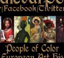 Medievalpoc: Banner Sticker
