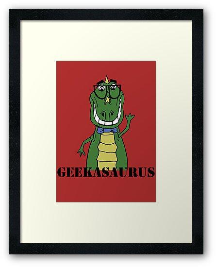 GEEKASAURUS COLOUR by Sarah Jane Jackson